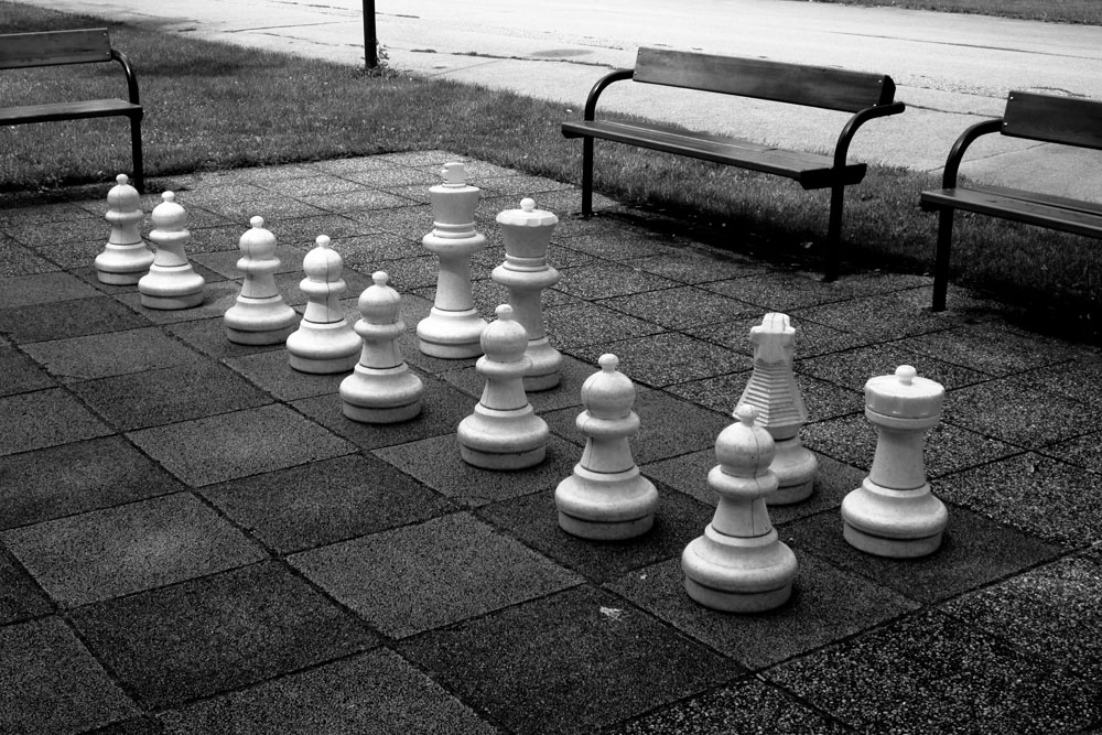 Larger than life chess