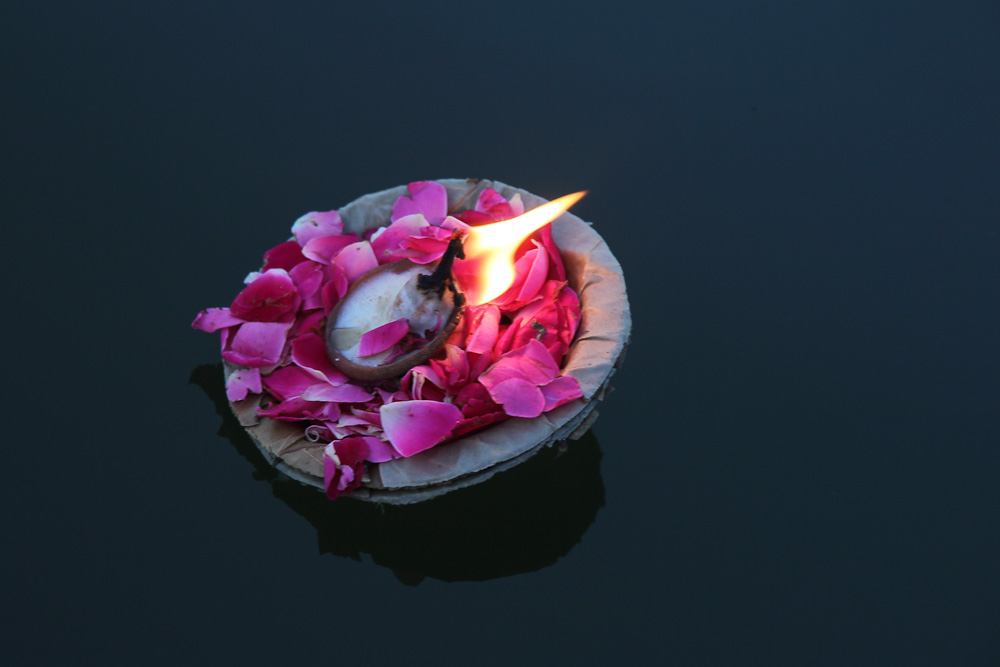 Candle on Ganges