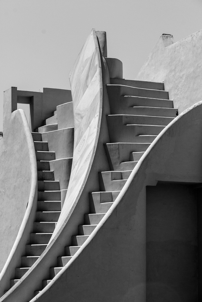 Staircase at Jantar Mantar