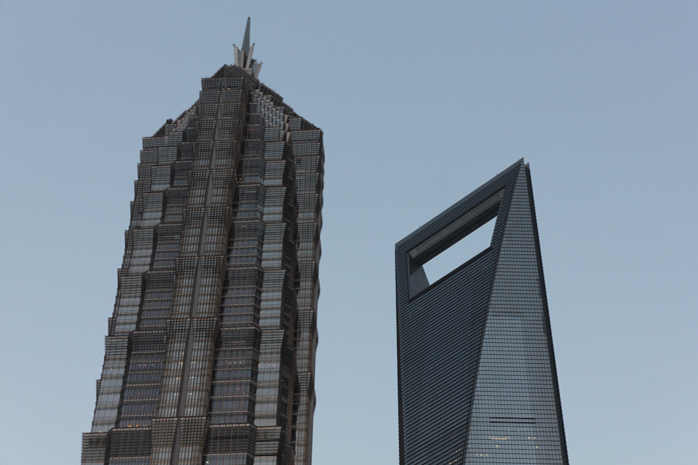 Pudong financial center