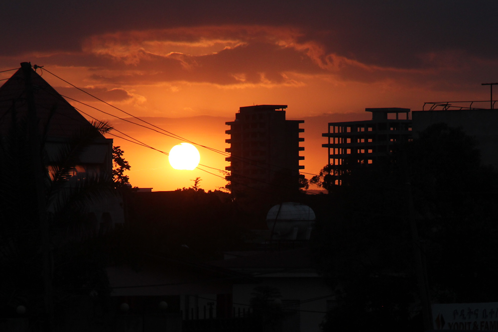 Sunset in Addis Ababa #2